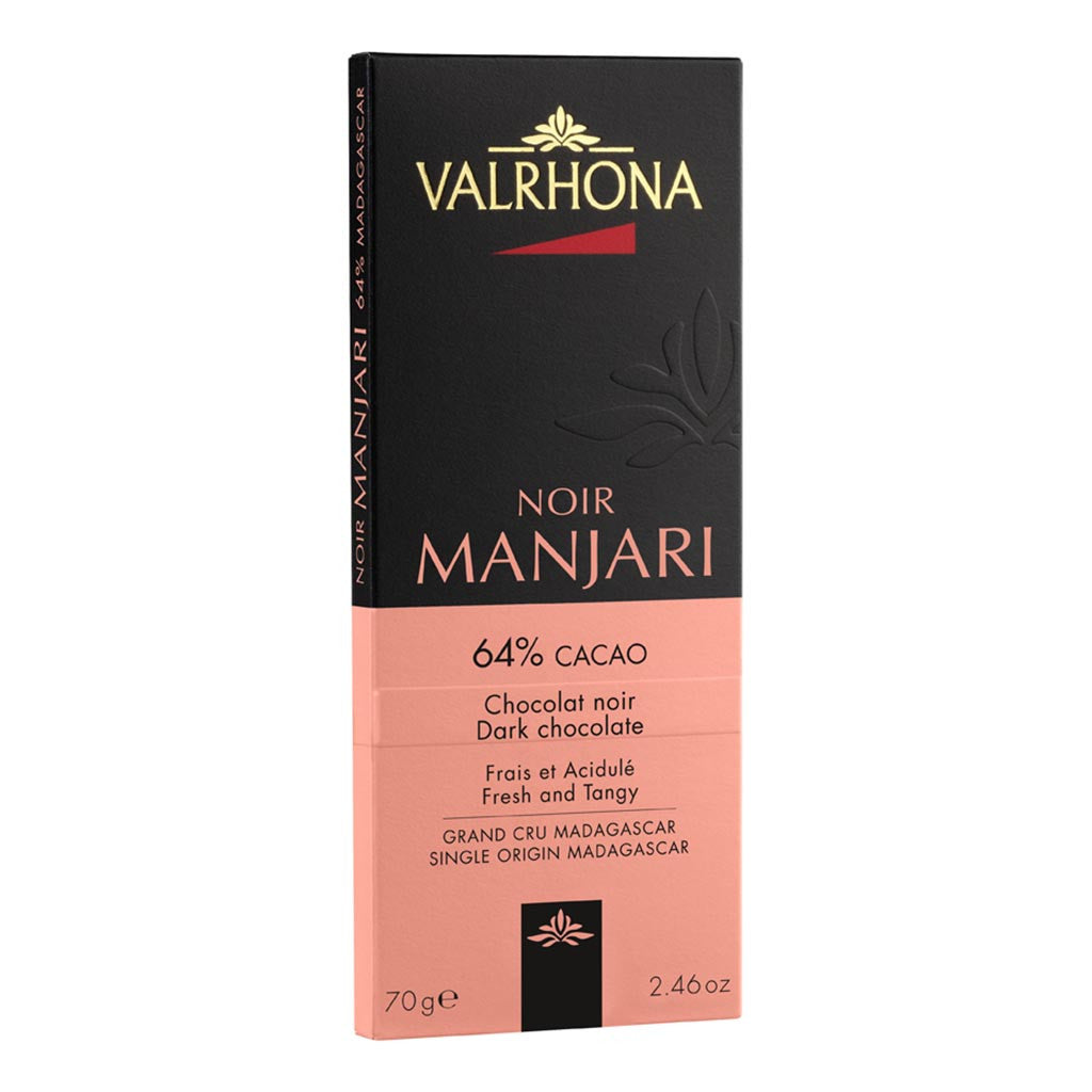 Valrhona French Luxury Chocolate - Manjari 64% Bar - Gourmet Boutique