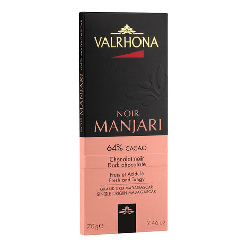 Valrhona French Luxury Chocolate - Manjari 64% Bar
