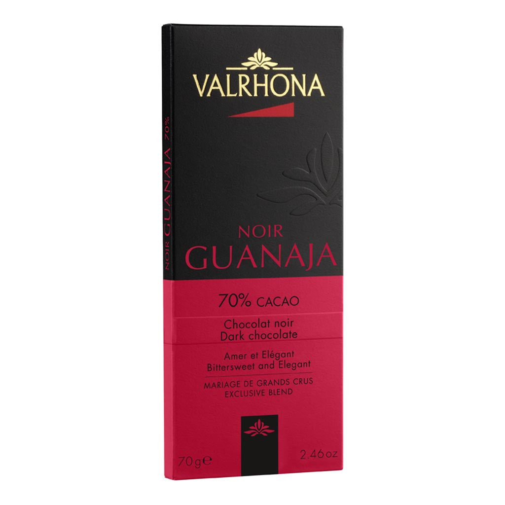 Valrhona French Luxury Chocolate - Guanaja 70% Bar - Gourmet Boutique