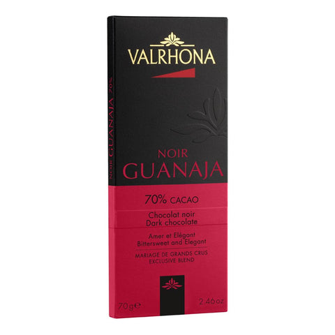 Valrhona French Luxury Chocolate - Guanaja 70% Bar