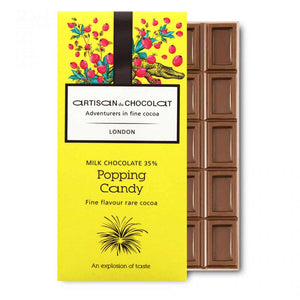 ARTISAN DU CHOCOLATE POPPING CANDY 35%