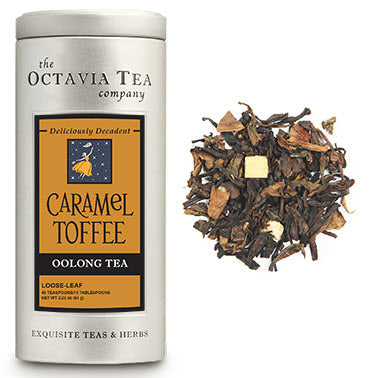 Octavia Tea - Caramel Toffee - Oolong Tea - Gourmet Boutique