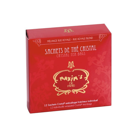 Maxim's Blend Full Leaf Tea in Sachets - Rue Royale (Tea Bags)