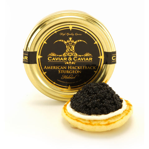 Caviar - Imported Farmed Siberian Sturgeon