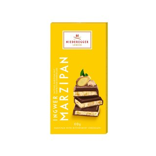 Niederegger Dark Chocolate Ginger Marzipan Bar