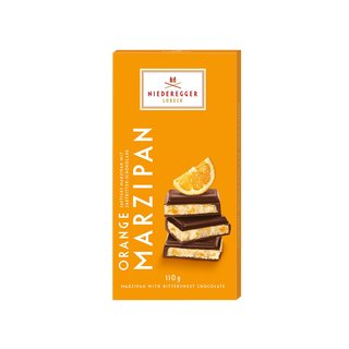 Niederegger Dark Chocolate Orange Marzipan Bar