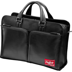 Premium Heart of the Hide Black Leather Briefcase  HOHBCB