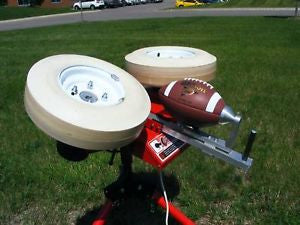 The Quarterback Football Throwing and Kicking Machine  Free Shipping in the Continental USA