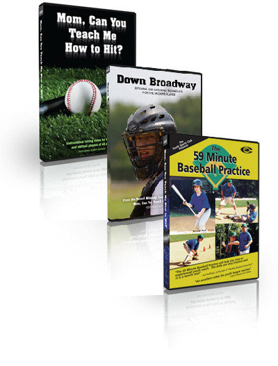 Mom, Can You Teach Me How To Hit?, Down Broadway: Pitching And Catching Techniques For The Modern Player, The 59 Minute Baseball Practice Money Saving Special