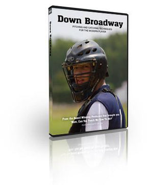 Stream or Download Down Broadway: Pitching And Catching Techmiques For The Modern Player. Download Option, own forever!
