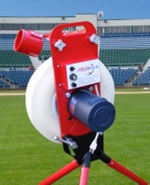 First Pitch Baseline Pitching Machine  Free Shipping in Continental United States  Made in the USA