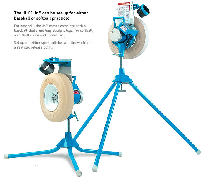 Jugs Jr. Baseball / Softball Pitching Machine