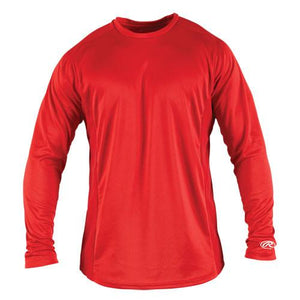 Adult Long Sleeve Crew Neck Performance Shirt  LSBASE