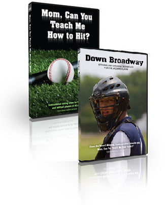 Mom, Can You Teach Me How To Hit?, Down Broadway: Pitching And Catching Techniques For The Modern Player Money Saving Special