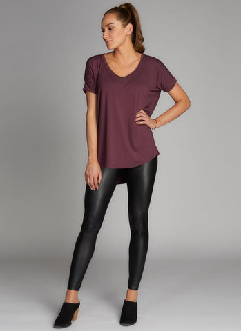 Fleece Lined Legging - Black
