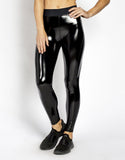 DOWNTOWN LEGGING - BLACK PATENT