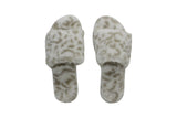 SLUMBER SLIPPER SNOW LEOPARD