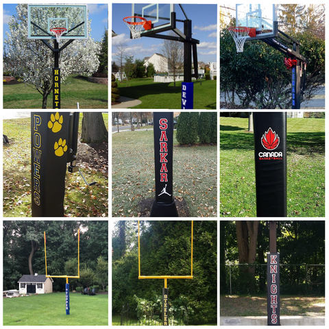 Customize and Personalize Your Existing Pole Pads