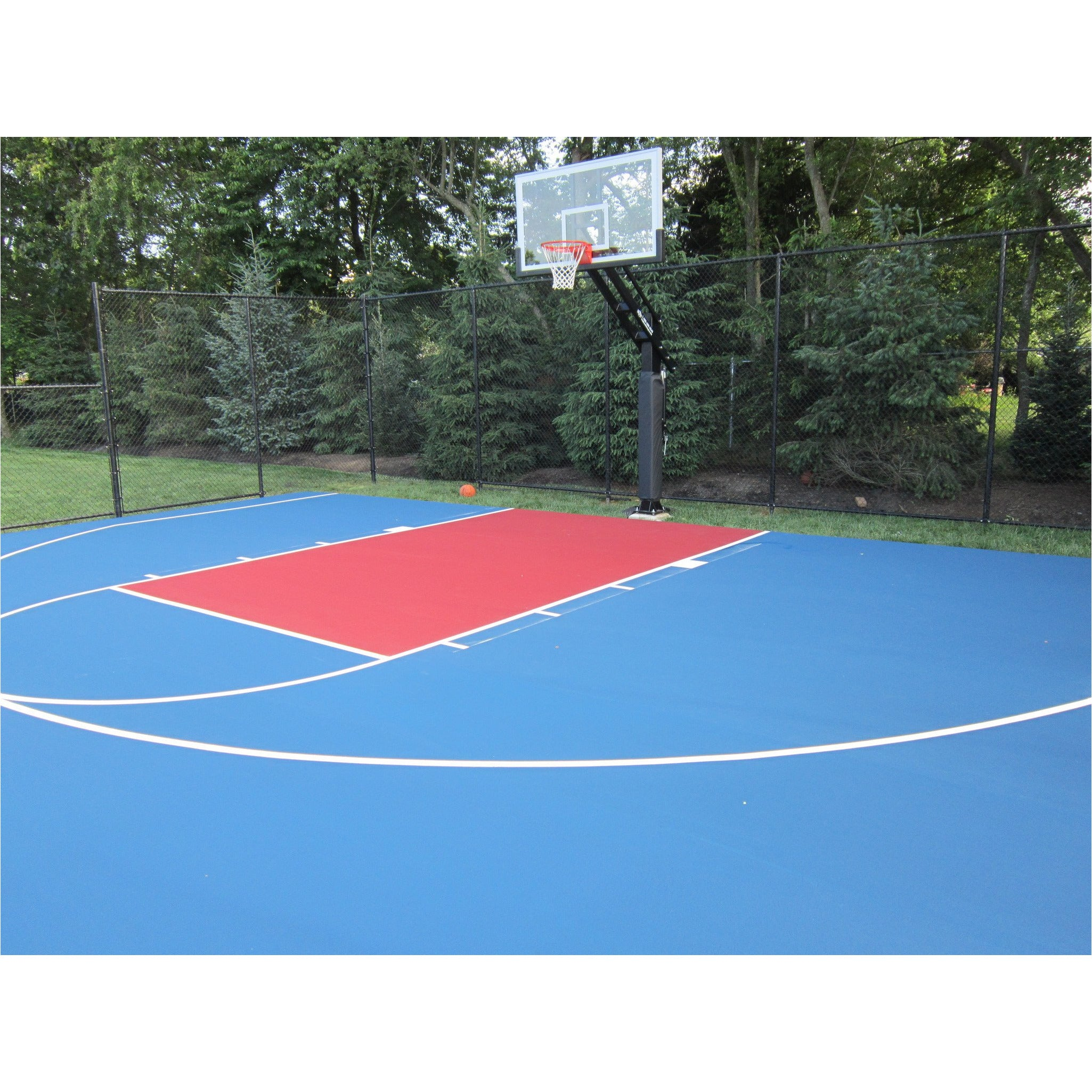 Indoor Or Outdoor Basketball Court Painting Local Service Only Home Court Hoops