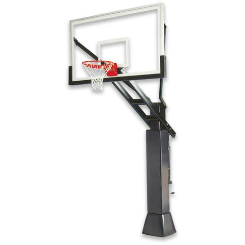 "IRONCLAD 72"" Full Court FCH885-XXL Adjustable Height Basketball Goal"