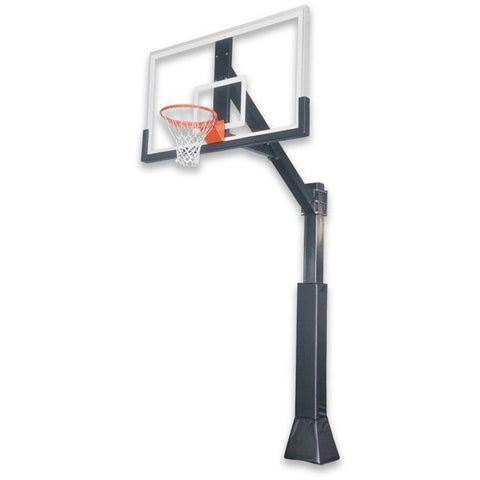 "IRONCLAD 72"" Highlight Hoops HIL664-XXL Fixed Height Ironclad Basketball Goal"