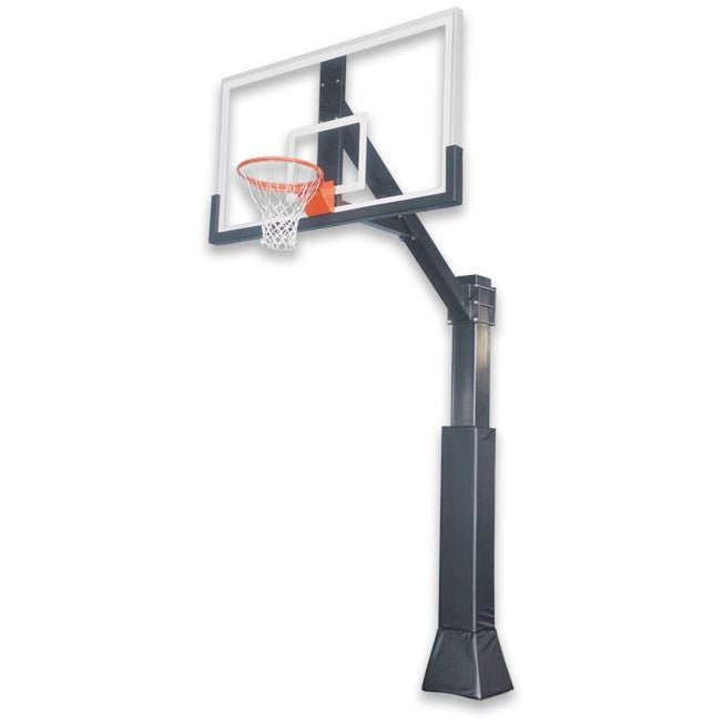 "IRONCLAD 72"" Highlight Hoops HIL885-XXL Fixed Height Ironclad Basketball Goal"