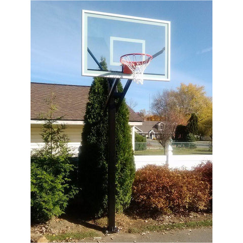 "American Eagle Pro Series Front Mount Basketball Hoop - 60""x 40"" or 72"" x 42"""