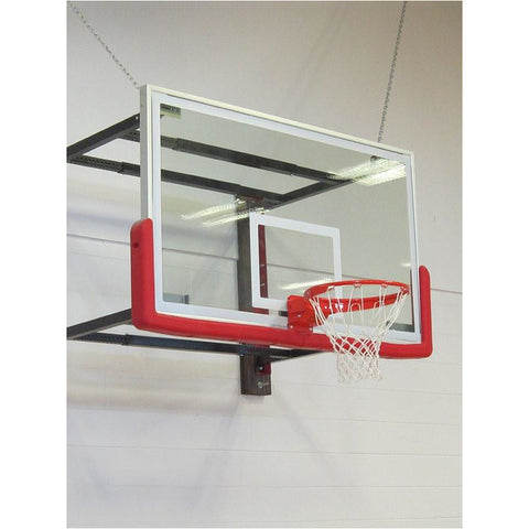 Side-Folding Basketball Hoops