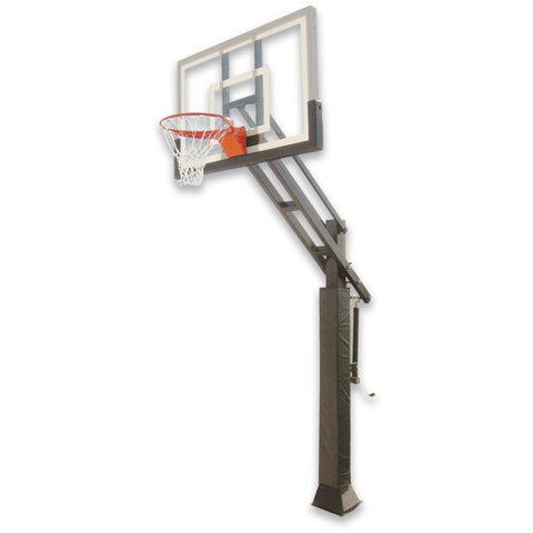 "IRONCLAD 54"" Triple Threat TPT553-MD Adjustable Height Ironclad Basketball Goal"