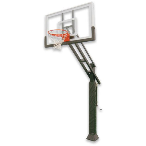 "IRONCLAD 60"" Triple Threat TPT554-LG Adjustable Height Ironclad Basketball Goal"