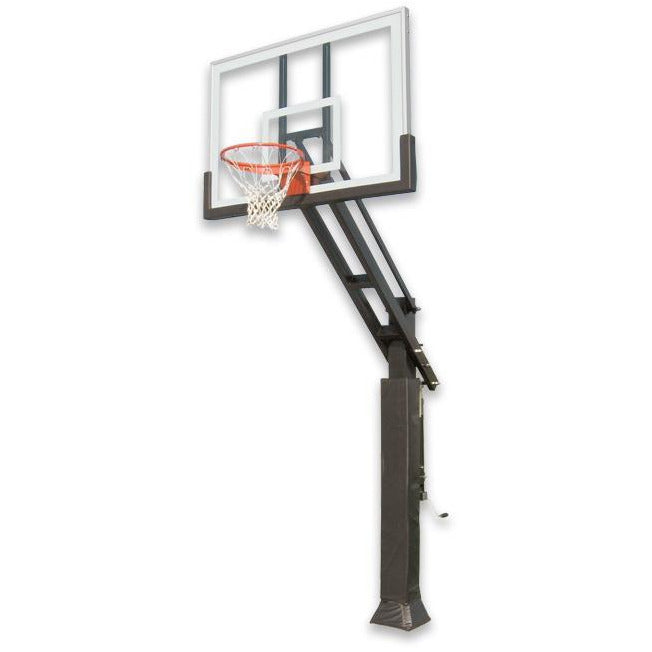 "IRONCLAD 60"" Triple Threat TPT664-XL Adjustable Height Ironclad Basketball Goal"