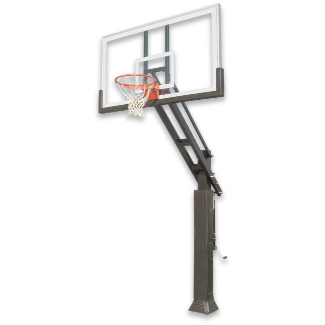 "IRONCLAD 72"" Triple Threat TPT684-XXL Adjustable Height Ironclad Basketball Goal"