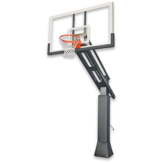 "IRONCLAD 72"" Triple Threat TPT885-XXL Adjustable Height Ironclad Basketball Goal"
