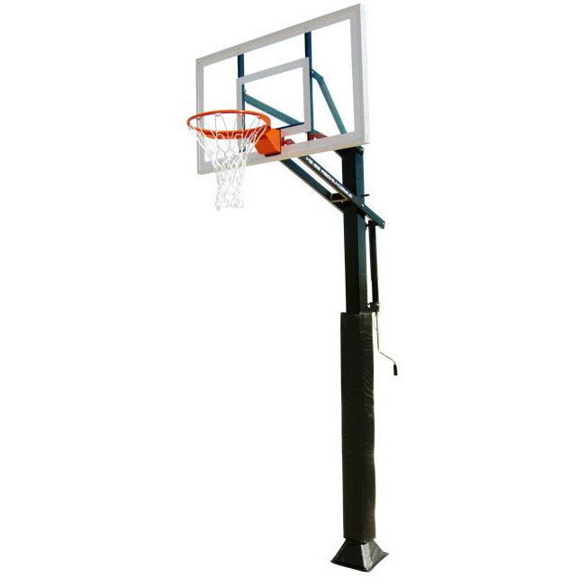 "IRONCLAD 54"" Gamechanger GC55-MD Adjustable Height Ironclad Basketball Goal"