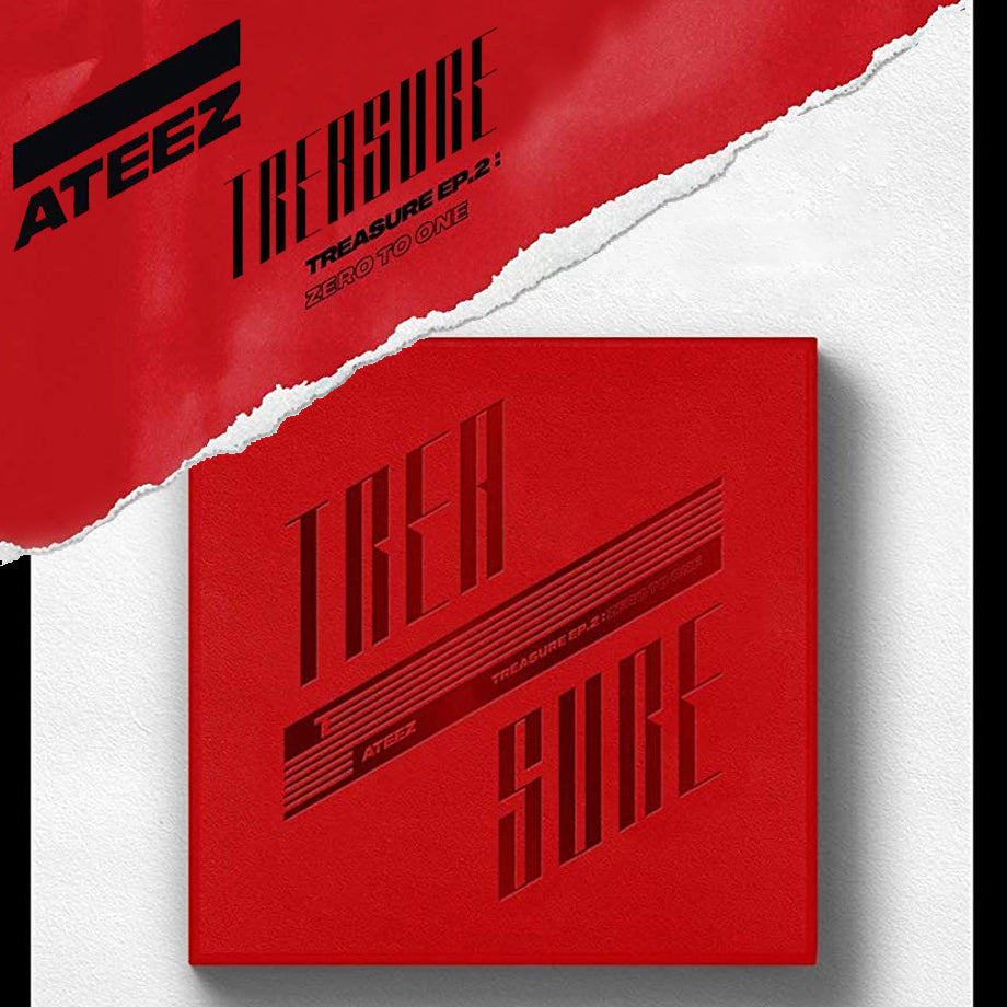 ATEEZ Mini Album Vol. 2 - TREASURE EP.2 : ZERO TO ONE