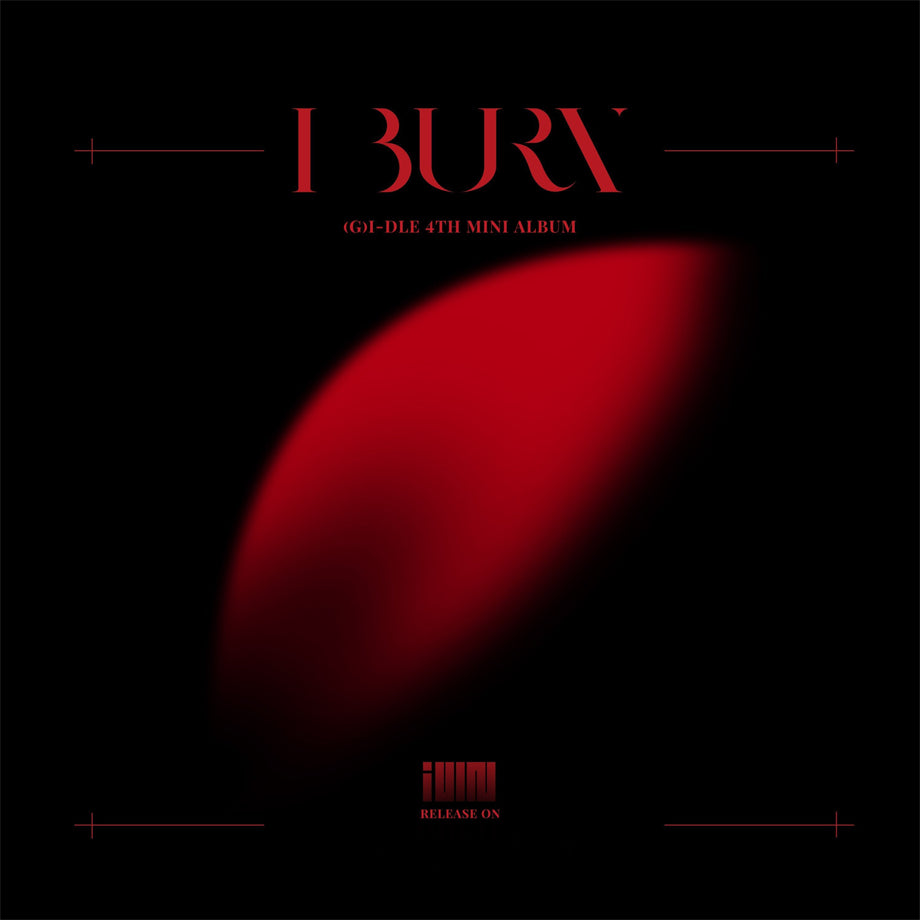 (G)I-DLE Mini Album Vol. 4 - I burn(Random Version)