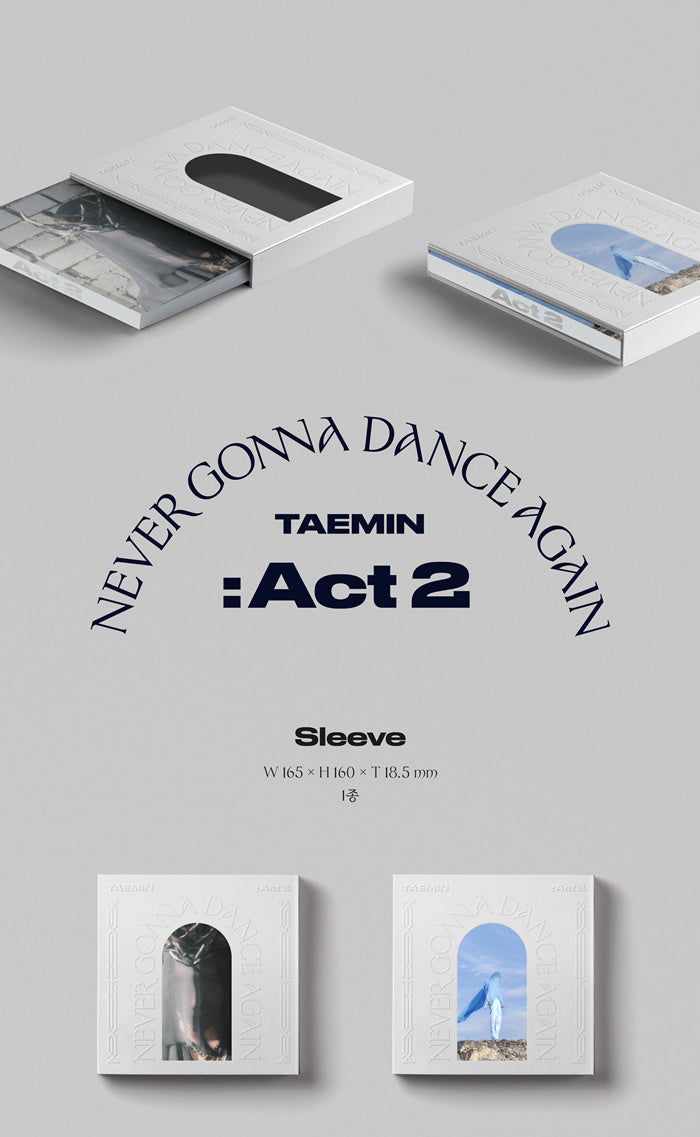 Tae Min(SHINee) Vol. 3 - Never Gonna Dance Again : Act 2