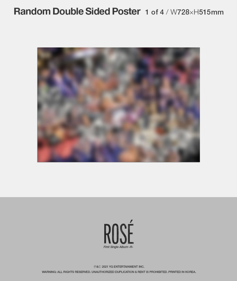 BLACKPINK : Rosé Single Album Vol. 1 -R-