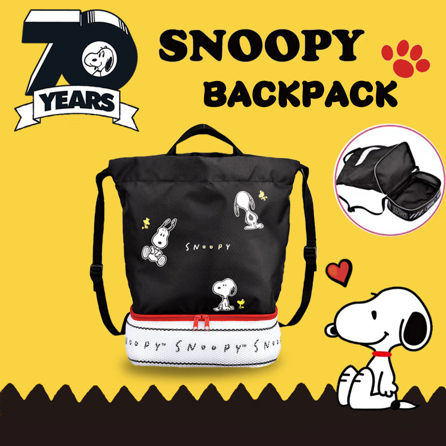 Snoopy x Peanuts 2-tier Backpack
