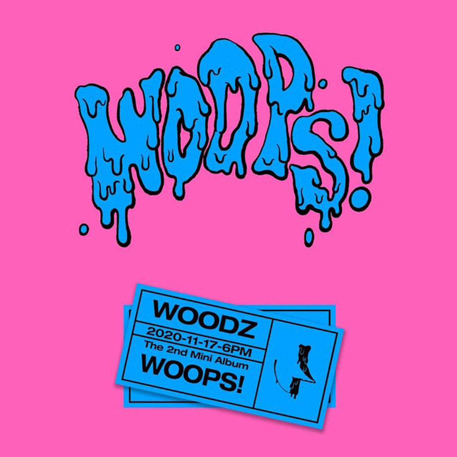 WOODZ Mini Album Vol. 2 - WOOPS!