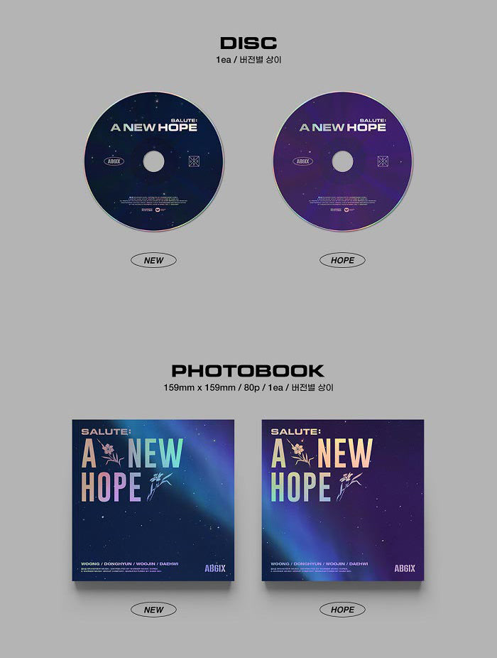 AB6IX EP Album Vol. 3 Repackage - SALUTE : A NEW HOPE