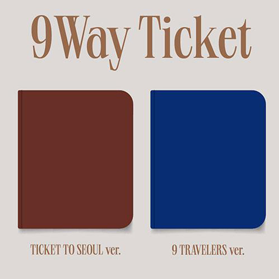 (Pre-order)Fromis_9 - 2nd Single Album【9 WAY TICKET】