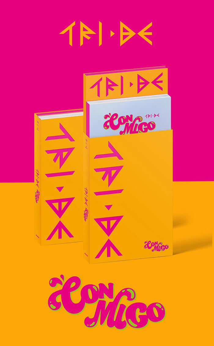(Pre-order)TRI.BE Single Album Vol. 2 - CONMIGO