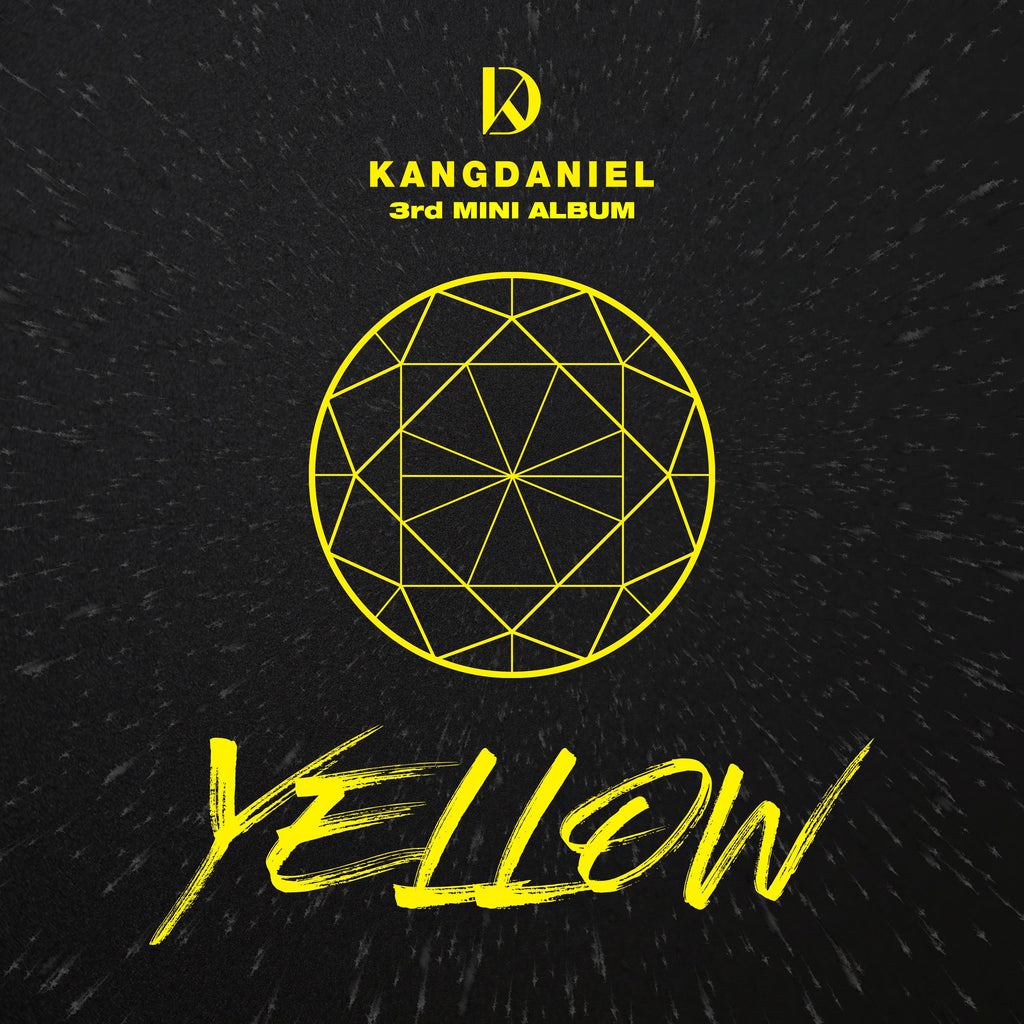 (Pre-order)Kang Daniel Mini Album Vol. 3 - YELLOW