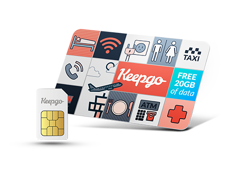 GoFi Backup Data Sim Card