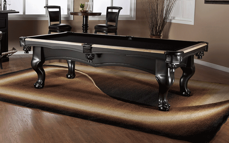 Delightful American Heritage Billiards Puma Pool Table Side ...