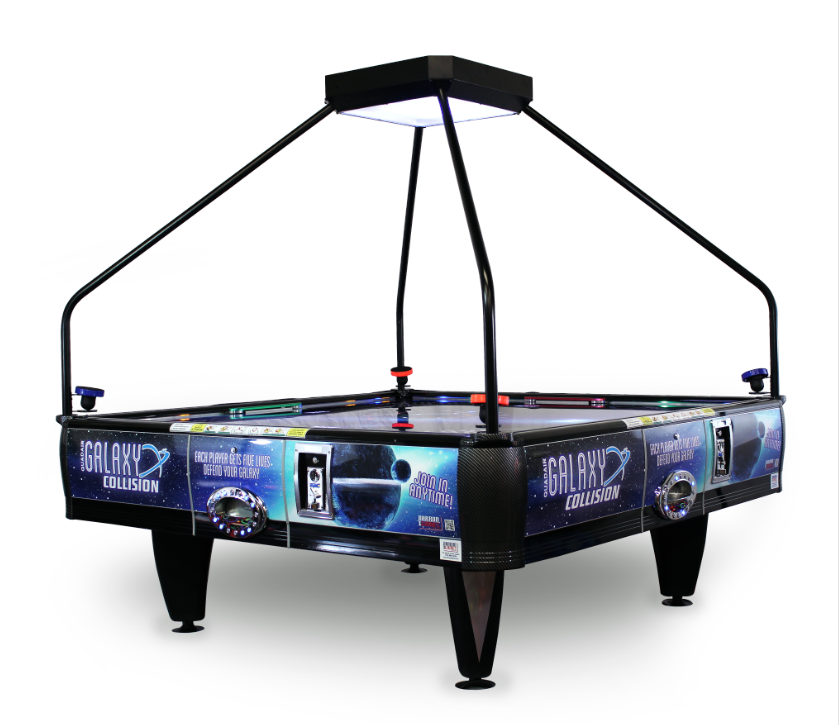 Enjoyable Barron Games Galaxy Collision Quadair Air Hockey Table 4 Player Interior Design Ideas Tzicisoteloinfo