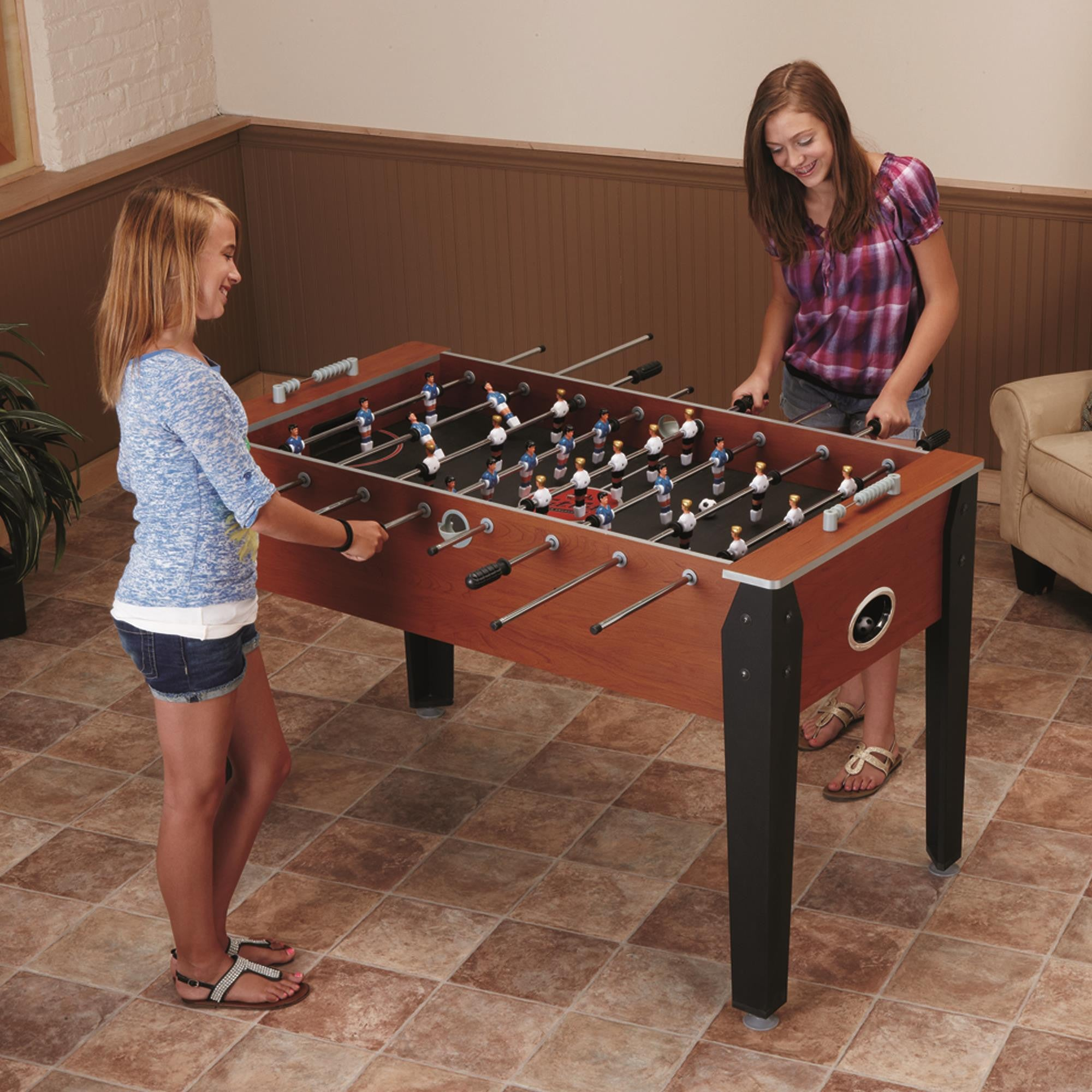 ... Fat Cat Manchester 54 Inch Foosball Table 64  ...