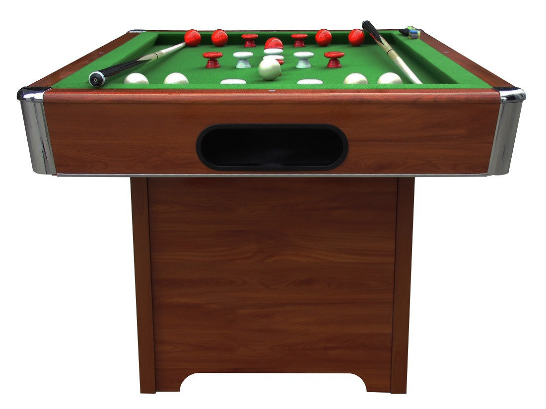 ... Hartford Bumper Pool Table Cherry Front ...