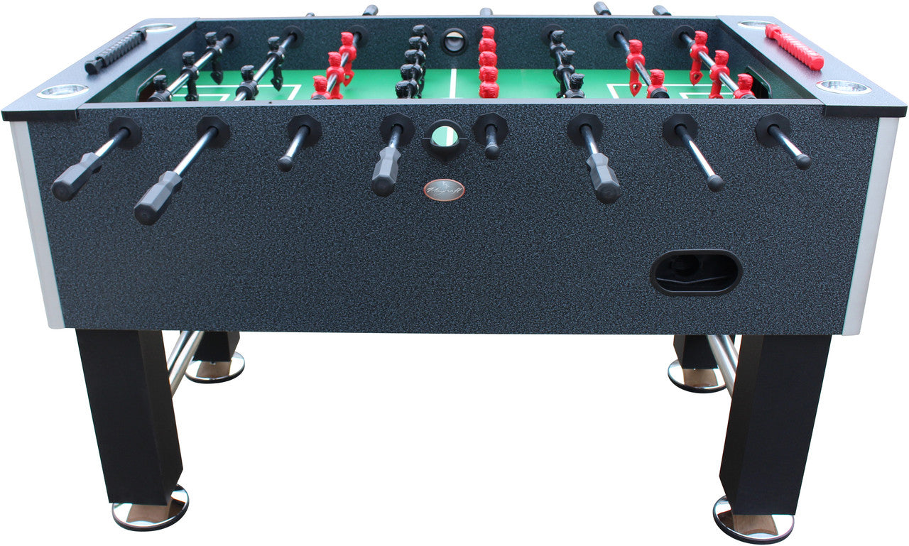 Merveilleux ... Pitch Foosball Table Charcoal Side2 ...